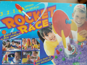 Rocket Race Board Game by Tactic games. Age  4+
