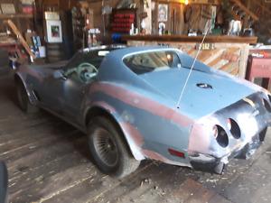 1976 Vette parts car - $3300 obo