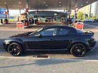 Mazda rx 8 triple black