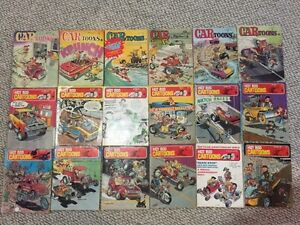 Hot Rod CARtoons Magazines