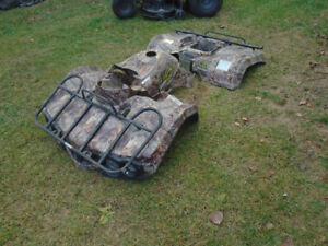 Body complet camouflage pour BAJA 4X4 WILDERNESSE TRAIL 400