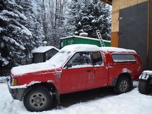 1989 Mazda B2600 4x4 trade for sled or quad
