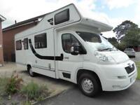 Elddis Autoquest 180 6 berth rear lounge coachbuilt motorhome for sale Ref 13008