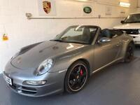 2006 Porsche 911 3.8 997 Carrera 4S Convertible 2dr Petrol Manual AWD (285