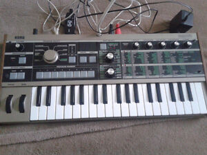 MicroKorg Synthesizer - Willing to negotiate!