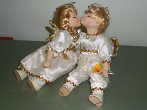 Anges en amour, décoration intérieure et de Noël