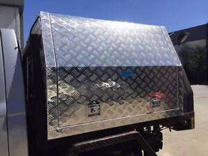 1780x1200x850 Aluminium Toolbox Gullwing Canopy Toolbox 3.0mm Che Clayton Monash Area Preview