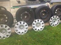 Vw golf caddy wheels tyres