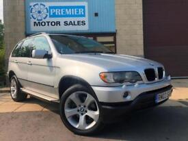 2003 BMW X5 3.0D SPORT MANUAL, FULL LEATHER, BLUETOOTH PHONE & MUSIC, CRUISE.