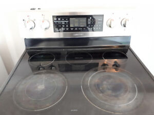 5 year old Samsung stainless steel fridge and stove
