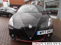 2017 Alfa Romeo Giulietta JTDM-2 SPECIALE TCT Diesel black Semi Auto