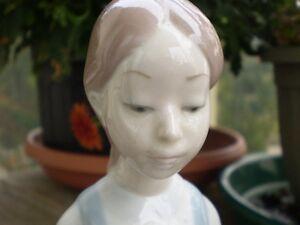 "Lladro Figurine- ""Sitting Girl with Flower"" #4596 Kitchener / Waterloo Kitchener Area image 7"