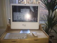 iMac With keyboard and magic mouse