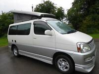 Toyota Grand Hiace Regius 4 berth pop top Campervan for sale Ref: 12029