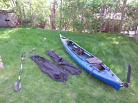Kayak de mer double Boréal