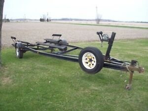 TWO BUNK STYLE BOAT TRAILERS