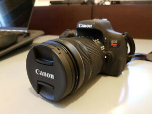 Canon t6i camera w/wo lens sale/trade