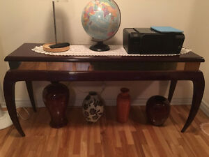Matching Center Table and Console Table (NEGOTIABLE PRICE)
