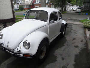 1974  vw bettle baja bug