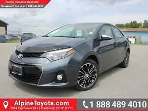 2014 Toyota Corolla S  Manual Transmission - Sunroof - Heated Se