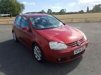 Volkswagen Golf 2.0 TDI GT 5dr manual diesel with big service history and MOT