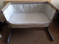 Next to me bed -cot- baby carrycot !