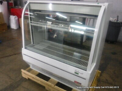 Turbo Air Tcdd-48h-w-n 48 Refrigerated Curved Deli Display Case