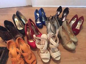shoe sale! All size 9 heels (most never worn/ worn once)
