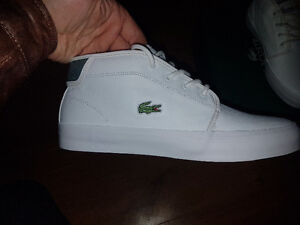 BRAND NEW IN BOX LACOSTE LIMITED EDITION HAND MADE MIDTOPS London Ontario image 1