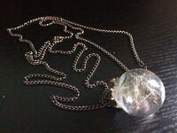 Necklace (Real Dandelion Necklace)