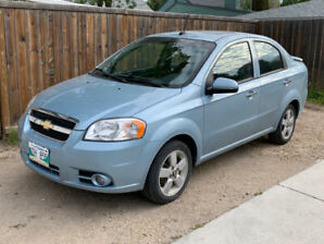 2011 Chevrolet Aveo LT - Safetied - Price reduced