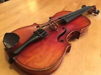 1/2 size violin from 1920s