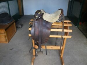 Ausie qaulity stock saddle made in Australia.