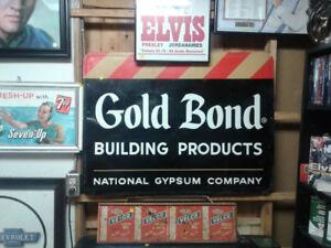 Gold Bond Sign
