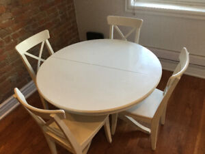 Table Ikea Ronde Blanche
