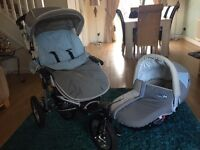Jane Powertrack 360 pram/pushchair/car seat