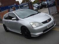 2003 03 PLATE Honda Civic 2.0i ( a/c ) Type R 4dr in Silver