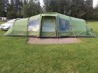 Vango Astoria 800 tent with footprint & canopy