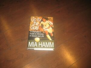 "Mia Hamn     "" Go for the Goal"" book"