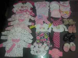 Baby girl clothes newborn - 1 month