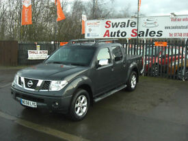 2009 NISAAN NAVARA AVENTURA 2.5dCi AUTOMATIC, DOUBLE CAB PICK UP,SERVICE HISTORY