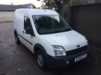 Ford transit connect 2005 12 months mot!! Lowmiles!! Great van!!