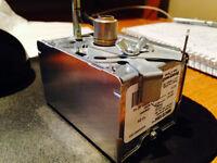 2014 wood pellet fireplace heating cooling air for Honeywell damper motor m847d1004