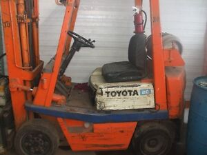4000lbs toyota forklift