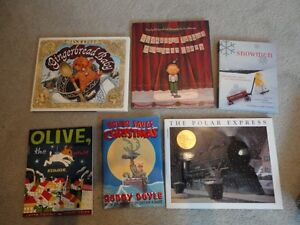 Collection of Winter and Christmas Books London Ontario image 1