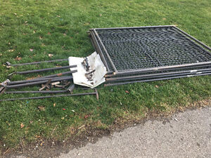Almost New Outdoor Dog Cage Kitchener / Waterloo Kitchener Area image 2