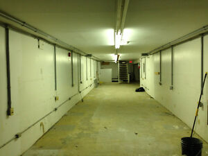 Commercial basement space