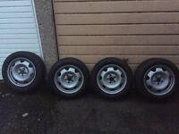 """VW T5 STEEL WHEELS 17"""""""