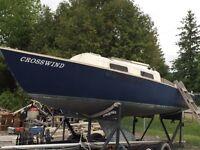 24ft Shark sailboat #618
