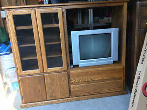 TV Cabinet For Sale! Asking $100 - Price Negotiable!